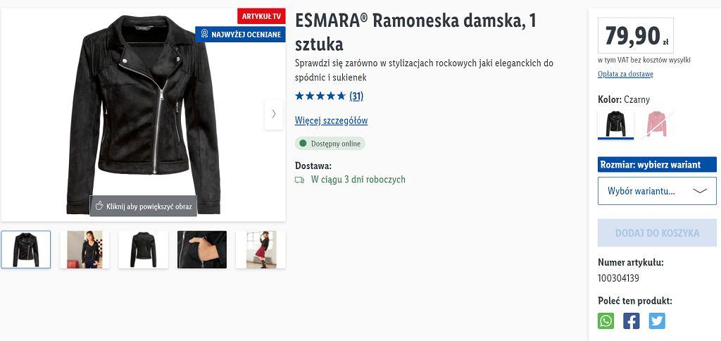 Lidl sprzedaje modną kurtkę za mniej niż 80 zł. To ponadczasowy hit, który powinna mieć w szafie każda kobieta
