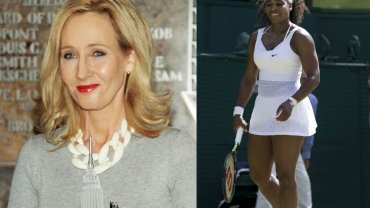 J.K.Rowling i Serena Williams