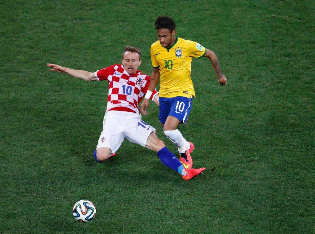 Luka Modrić i Neymar
