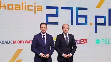 Rafał Trzaskowski i szef PO Borys Budka zaproponowali stworzenie 'Koalicji 276'. Właśnie tylu głosów potrzebuje w Sejmie opozycja, by móc odrzucać weta prezydenta Dudy