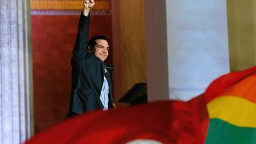 Premier Grecji Alexis Cipras