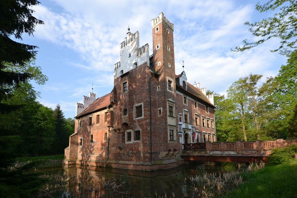 Wojnowice, zamek na wodzie