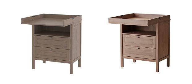 IKEA ogłasza akcję naprawczą stołu do przewijania/komody SUNDVIK