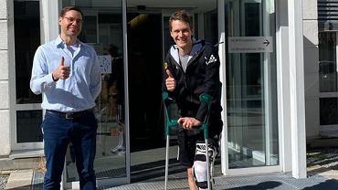 Stephan Leyhe opuścił klinikę w Monachium