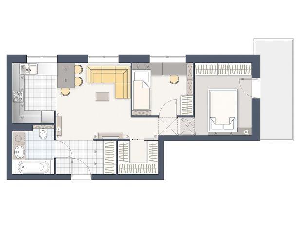 Z 1 Pokoju 2 Budowa Projektowanie I Remont Domu