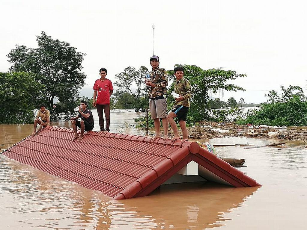 Laos: nieznana liczba ofiar i setki zaginionych po katastrofie zapory wodnej