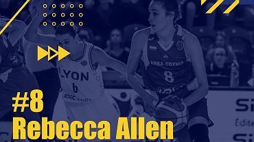 Najwartościowsza u koszykarek Australijka Rebecca Allen, Kahleah Copper w najlepszej piątce sezonu
