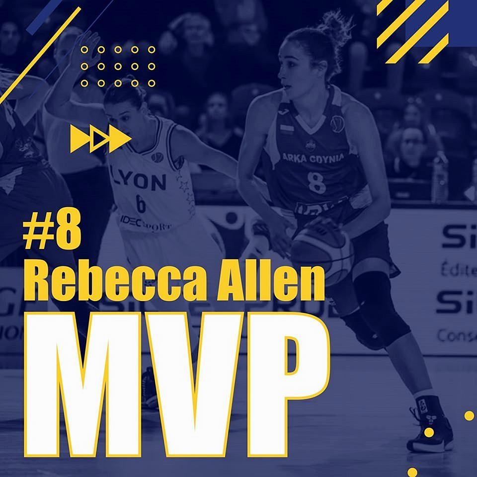 Zdjęcie numer 1 w galerii - Najwartościowsza u koszykarek Australijka Rebecca Allen, Kahleah Copper w najlepszej piątce sezonu