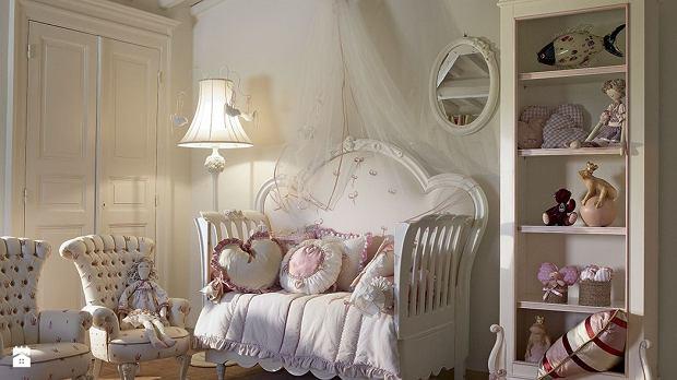 Pokój dla dziewczynki w stylu shabby chic - inspiracje