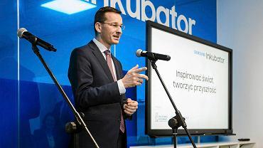 Mateusz Morawiecki. Otwarcie Inkubatora Samsunga na Politechnice Rzeszowskiej