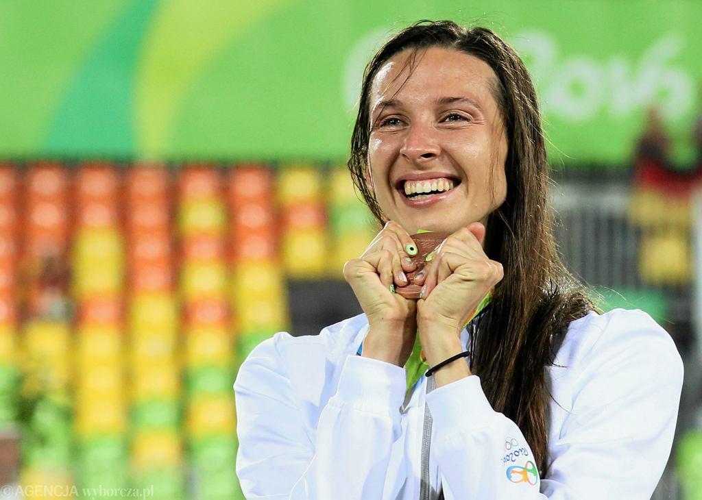 Oktawia Nowacka dekorowana brązowym medalem na igrzyskach olimpijskich w Rio