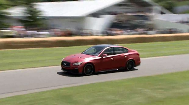 Infiniti Q50 Eau Rouge w Goodwood