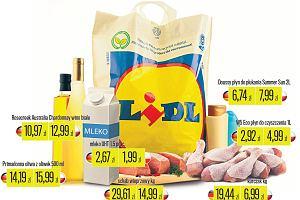 Zakupy w Lidlu. W niemieckim sklepie sieci wiele produktów jest tańszych niż w polskim. Nawet o 85 proc.