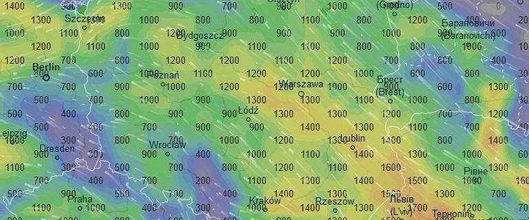 Burze sun� nad Polsk�. Sprawd�, gdzie jest burza