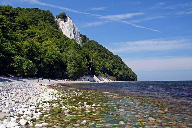 Kredowe wybrzeże Rugii, Niemcy / fot. Shutterstock