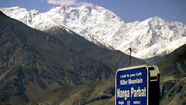 Widok na Nanga Parbat