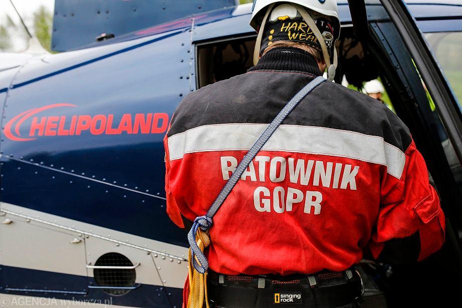 Tragedia w Bieszczadach. Mężczyzna zasłabł na szczycie