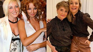 Agnieszka Włodarczyk z mamą, Małgorzata Socha z mamą