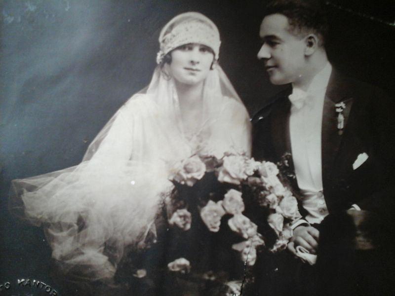 Greta i Karol Allinowie 1927 r.