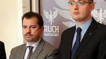 Artur Zawisza i Robert Winnicki