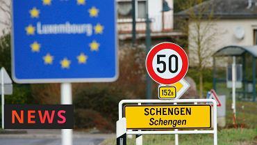 Oznakowanie strefy Schengen
