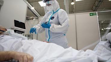 Koronawirus w Lubelskiem. Szpital tymczasowy na terenie Targów Lublin