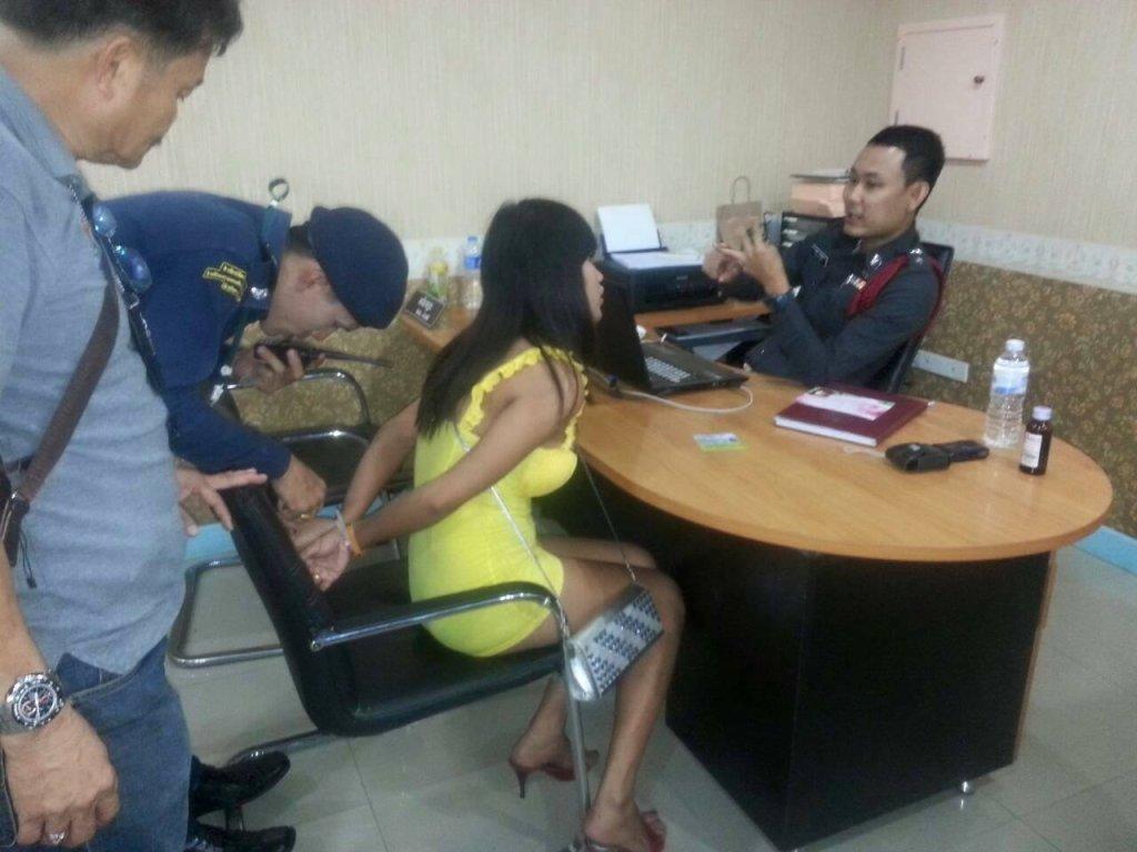 Posterunek policji w Tajlandii