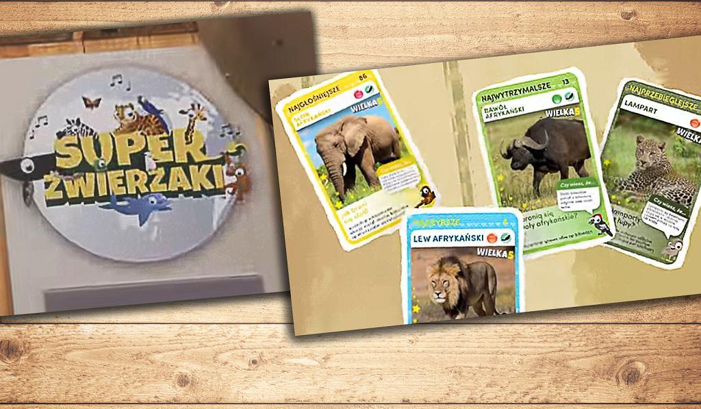 Za zakupy warzyw lub owoców za minimum 5 zł klient Biedronki otrzymywał 4 karty ze zwierzętami.