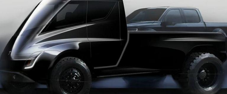 Elon Musk mówi o wyglądzie pickupa Tesli