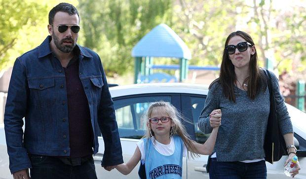 Jennifer Garner i Benn Affleck z Violet Annie