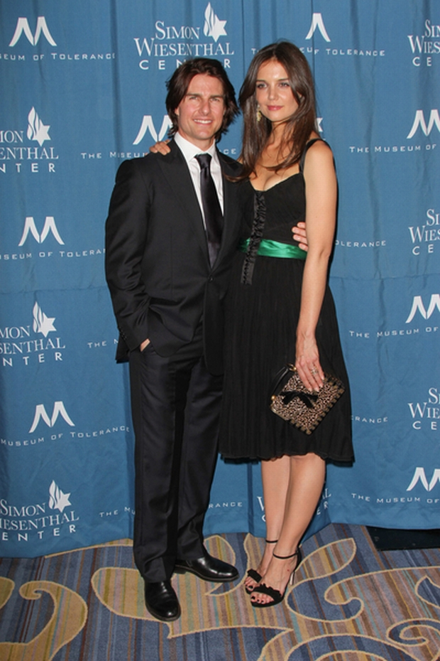 05/05/2011 - Tom Cruise and Katie Holmes - Simon Wiesenthal Center's 2011 Humanitarian Award National Tribute Dinner - Arrivals - Beverly Wilshire Hotel, 9500 Wilshire Boulevard - Beverly Hills, CA, USA - Keywords:  Orientation: Portrait Face Count: 1 - False - Photo Credit: Andrew Evans  / PR Photos - Contact (1-866-551-7827) - Portrait Face Count: 1