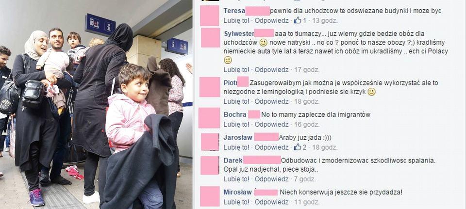 Reakcje Polaków na uchodźców z Syrii, którzy uciekają do Europy przed wojną