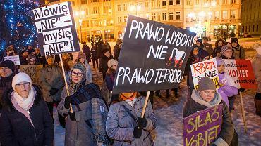 Protest w Bydgoszczy
