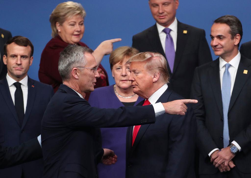 Światowi przywódcy na spotkaniu NATO