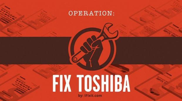 Operation Fix Toshiba (materiały promocyjne)