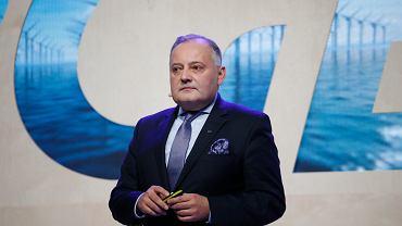 Prezes zarządu PGE Wojciech Dąbrowski