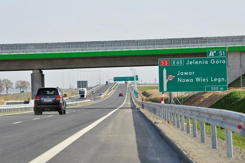 Droga S3 - odcinek Legnica - Bolków