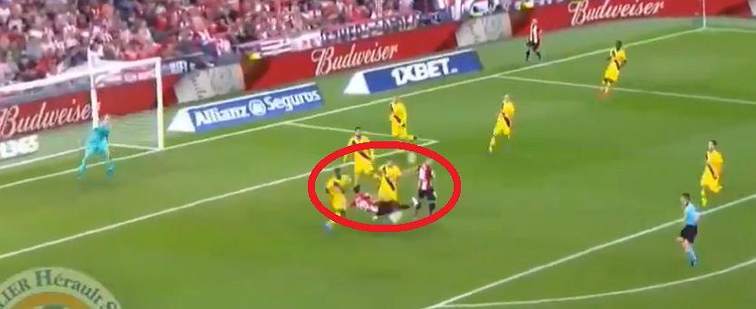 Piękny gol Aritza Aduriza. Athletic pokonał Barcelonę