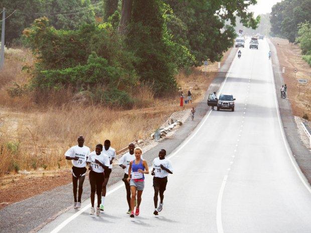 WhatAnnaWears: Wzruszająca relacja z półmaratonu w Gambii!