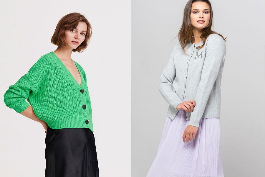 Swetry damskie rozpinane
