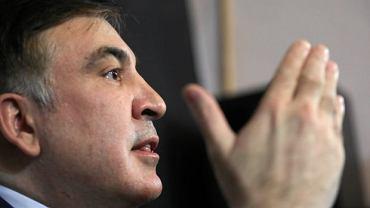 Warszawska konferencja prasowa Micheila Saakaszwiliego