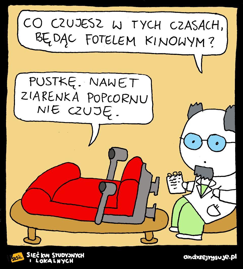 Powrót do kin studyjnych, Andrzej Rysuje,