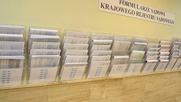 Formularze KRS