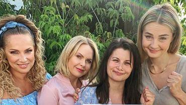 Joanna Liszowska, Magdalena Stużyńska, Agnieszka Sienkiewicz, Małgorzata Socha