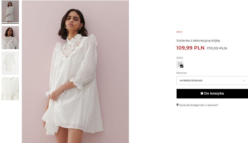 sukienka oversize Reserved