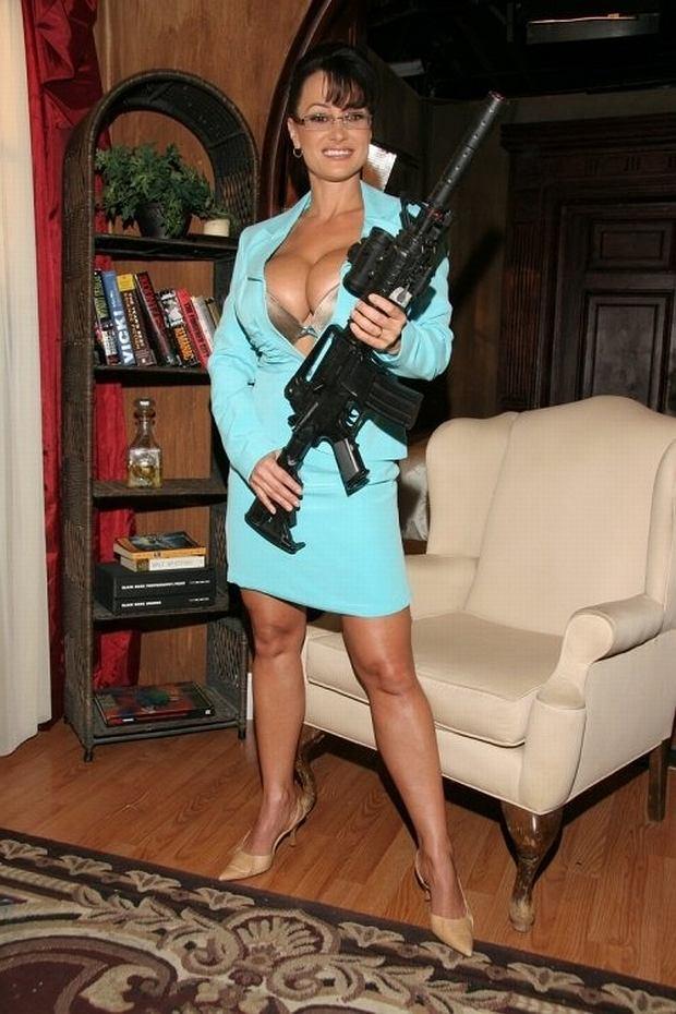 Lisa Ann jako Sarah Palin