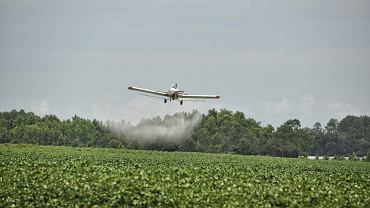 Samolot do oprysków (Zdjęcie ilustracyjne)
