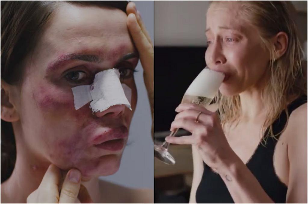 Olga Bołądź i Katarzyna Warnke w 'Botoksie'