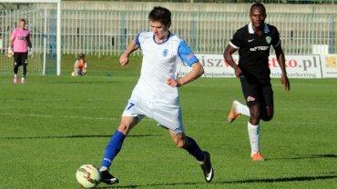 Trzecia liga: Stilon Gorzów - Formacja Port 2000 Mostki 0:1 (0:1). Z piłką Kordian Ziajka