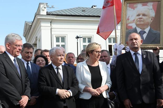 Obchody miesięcznicy katastrofy smoleńskiej - 10 lipca 2017r.